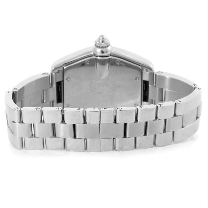 Cartier Roadster Large Mens Steel Vegas Vegas Dial Watch W62002V3 SwissWatchExpo