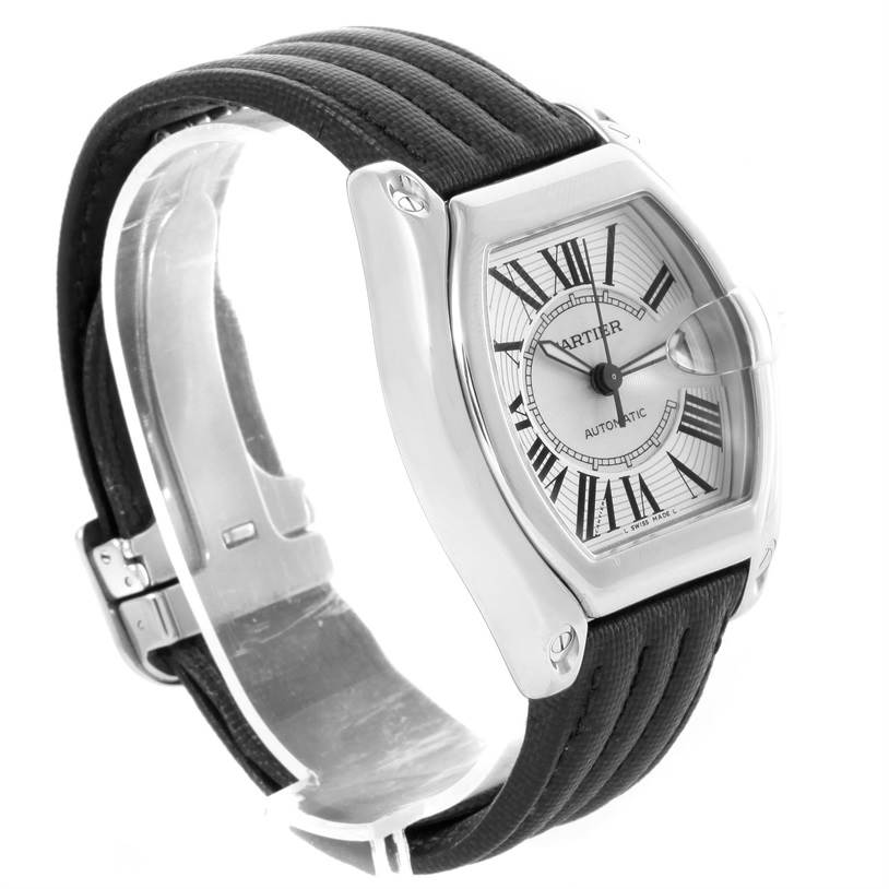 12014A Cartier Roadster Mens Automatic Watch W62025V3 Box Papers Strap SwissWatchExpo