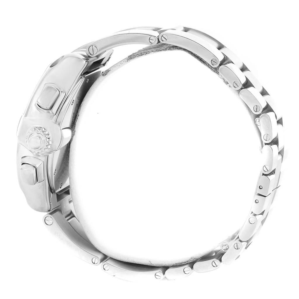 15093 Cartier Roadster XL Chronograph Black Roman Dial Mens Watch W62020X6 SwissWatchExpo