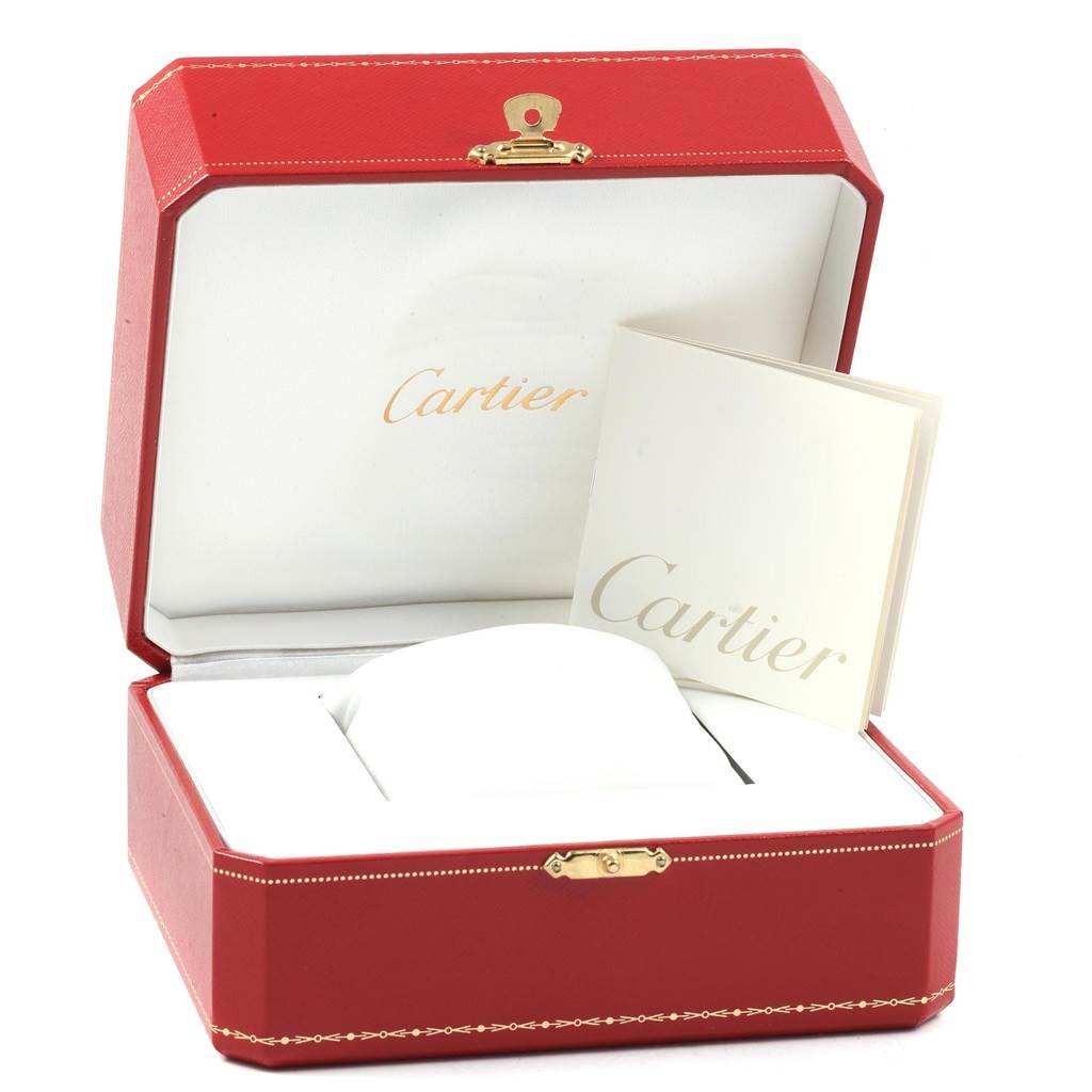 20776 Cartier Roadster XL Chronograph Automatic Mens Watch W62019X6 Box SwissWatchExpo