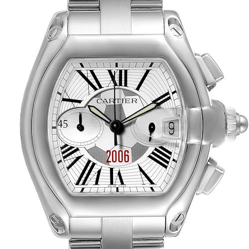Photo of Cartier Roadster FIFA World Cup Germany 2006 Limited 150 Watch W62044X6