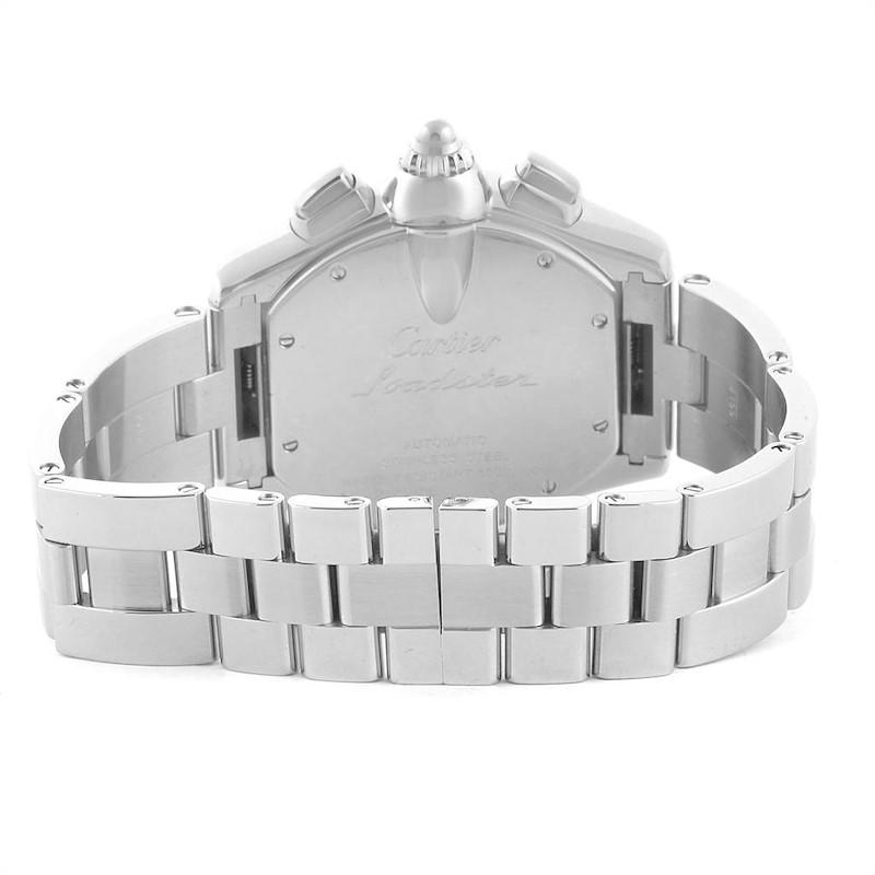 Cartier Roadster XL Chronograph Automatic Mens Watch W62019X6 SwissWatchExpo