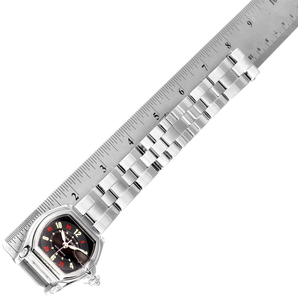 22950 Cartier Roadster Vegas Roulette Vegas Mens Watch W62002V3 Box Papers SwissWatchExpo