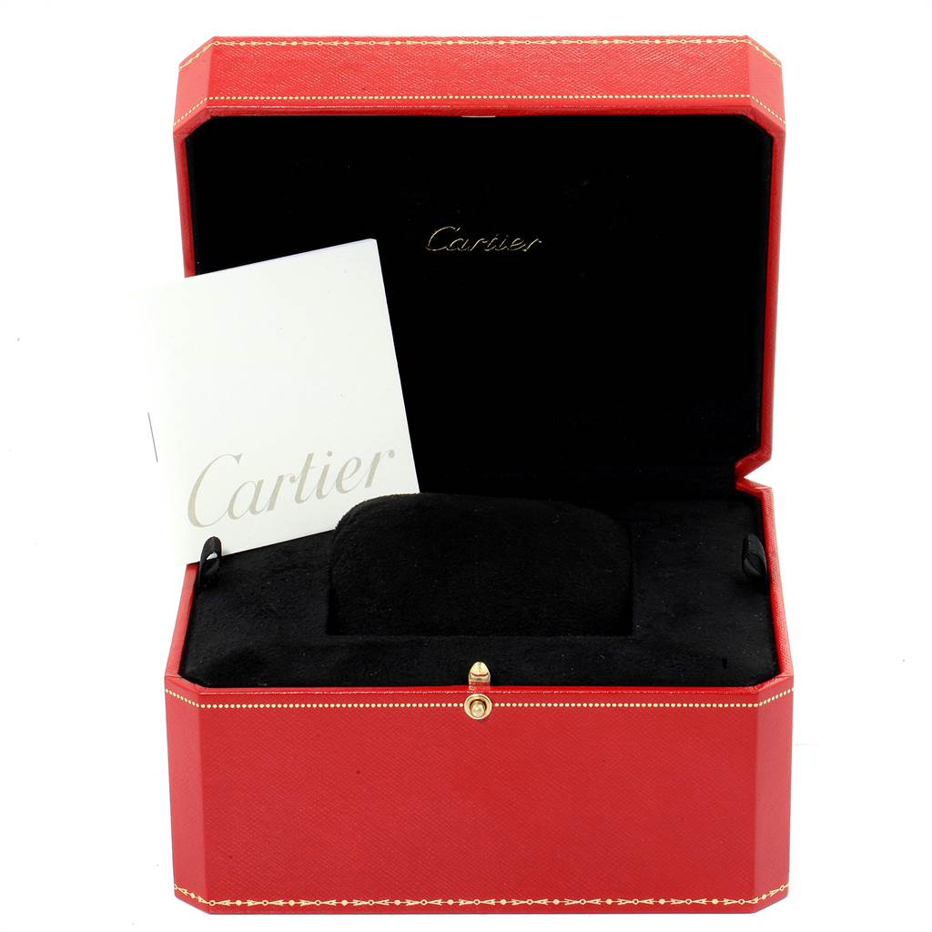 Cartier Roadster Vegas Roulette Vegas Mens Watch W62002V3 Box Papers SwissWatchExpo