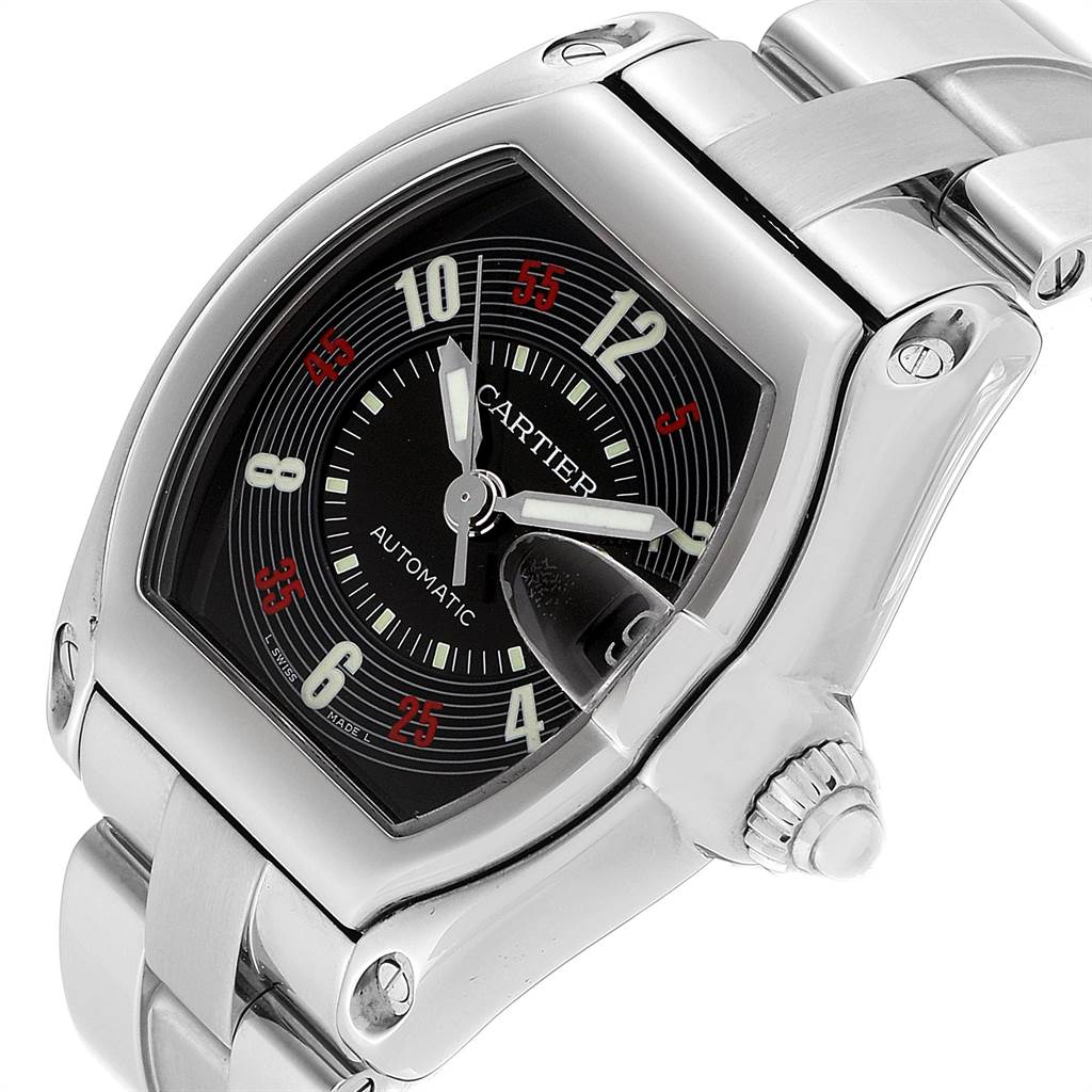 23289 Cartier Roadster Vegas Roulette Vegas Dial Mens Watch W62002V3 SwissWatchExpo