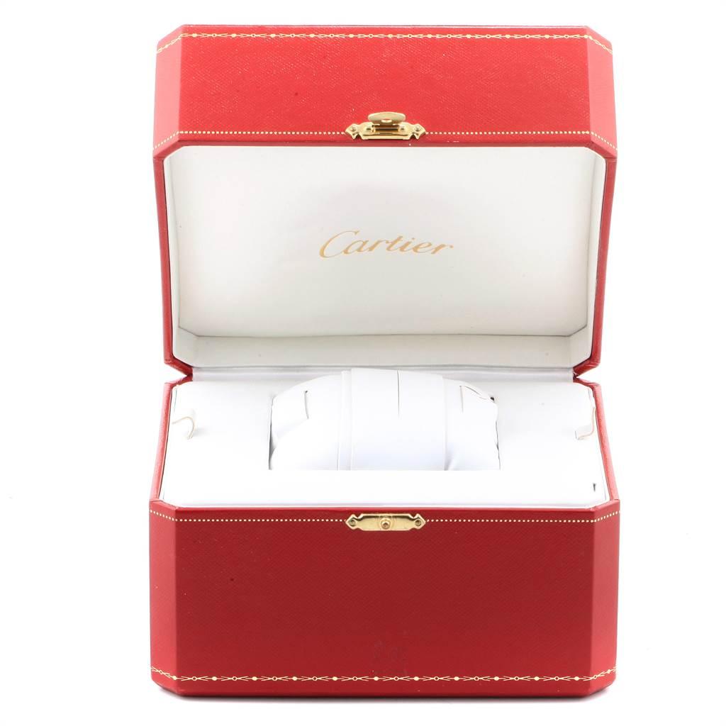 23304 Cartier Roadster XL Chronograph Automatic Mens Watch W62019X6 Box SwissWatchExpo