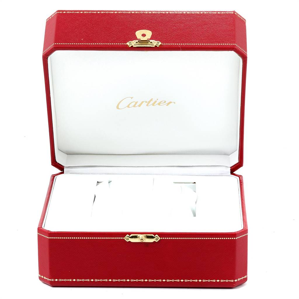 Cartier Roadster XL Chronograph Automatic Mens Watch W62019X6 Box SwissWatchExpo