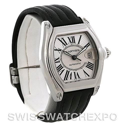 Cartier Roadster Steel Automatic Mens Watch W62025V3 SwissWatchExpo