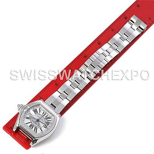 4334 Cartier Roadster Mens X-Large GMT Watch W62032X6 SwissWatchExpo
