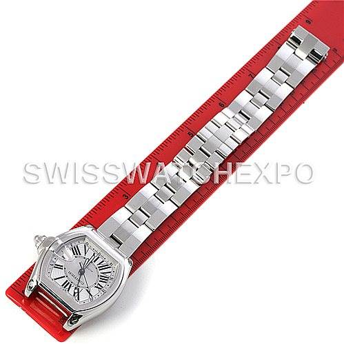 4405 Cartier Roadster Mens X-Large GMT Watch W62032X6 SwissWatchExpo