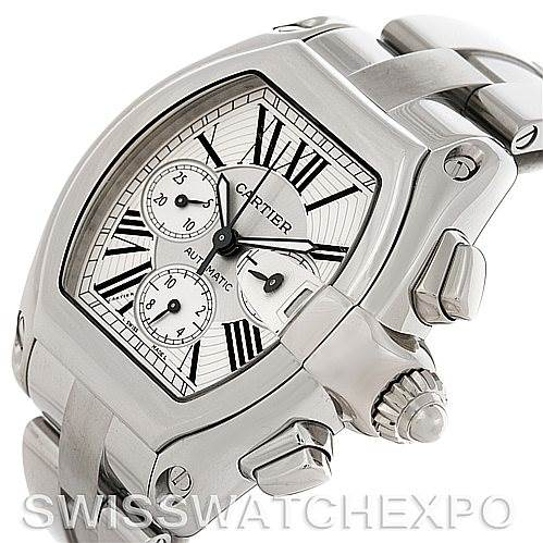 4583 Cartier Roadster Chronograph Mens watch W62019X6   SwissWatchExpo