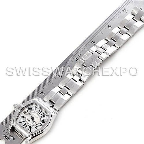 4695 Cartier Roadster Mens Steel Large Watch W62025V3 SwissWatchExpo