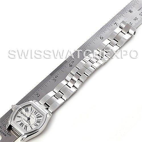4726 Cartier Roadster Mens Steel Large Watch W62025V3 SwissWatchExpo