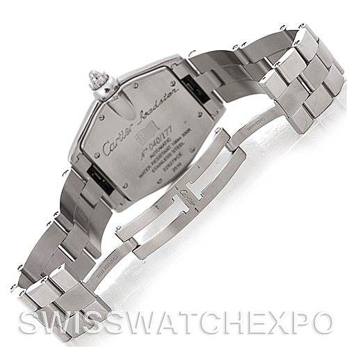 4729 Cartier Roadster Mens Large Watch W62025V3 Greek Edition SwissWatchExpo
