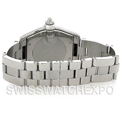 5152 Cartier Roadster Men's Steel Large Watch W62025V3 SwissWatchExpo