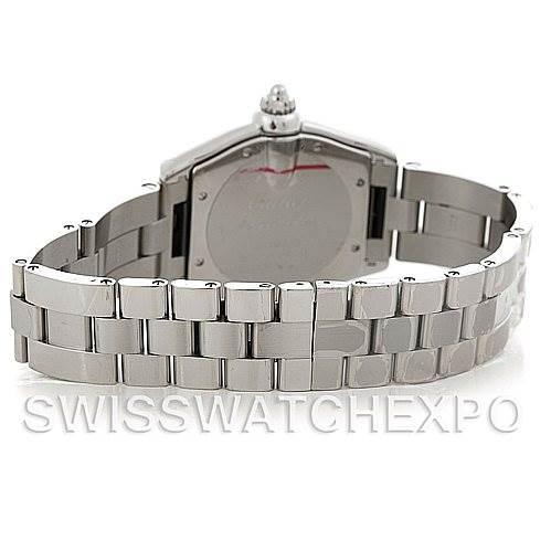 5287 Cartier Roadster Men's Steel Large Watch W62025V3 SwissWatchExpo