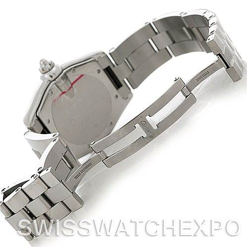 5287 Cartier Roadster Men's Steel Large Watch W62025V3 SwissWatchExpo