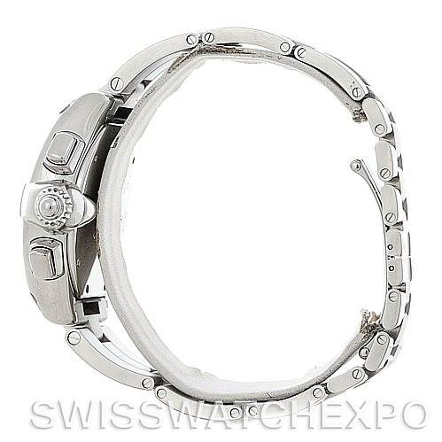 5369 Cartier Roadster Chronograph Mens Black Dial W62020X6 Watch SwissWatchExpo