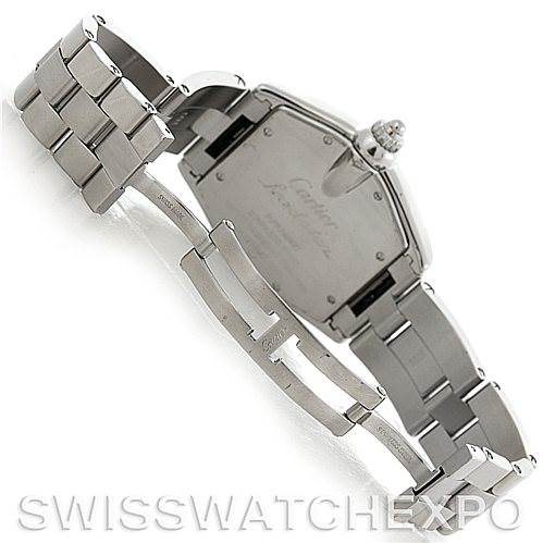 5811 Cartier Roadster Mens Steel Large Watch W62041V3 SwissWatchExpo