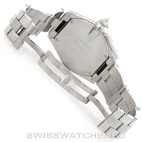 6340 Cartier Roadster Mens XL GMT Watch W62032X6 SwissWatchExpo