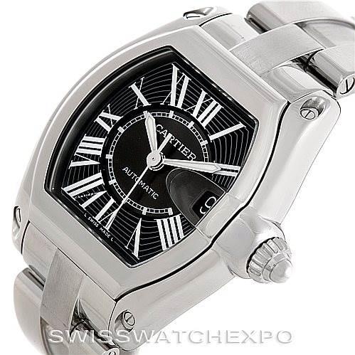 Cartier Roadster Mens Steel Large Watch W62041V3 SwissWatchExpo