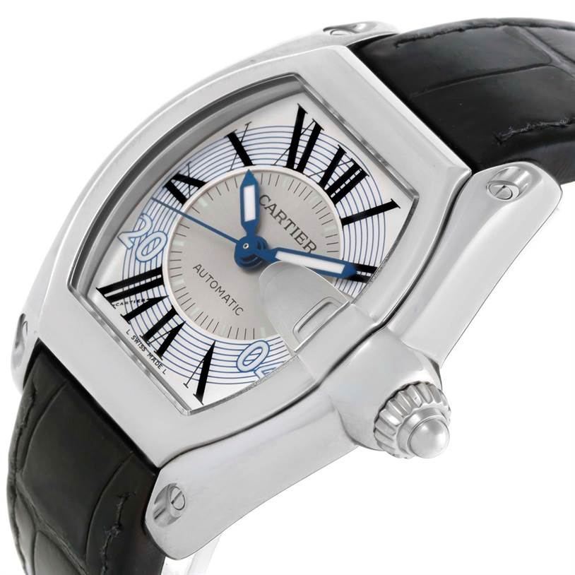 Cartier Roadster Mens Large Watch W62025V3 Greek Edition SwissWatchExpo