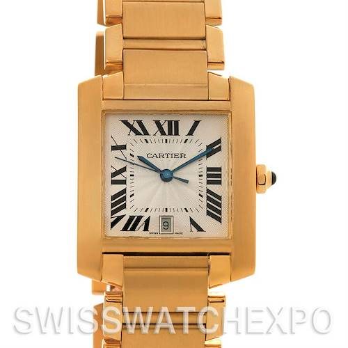 Photo of Cartier Tank Francaise Large 18K Yellow Gold W50001R2
