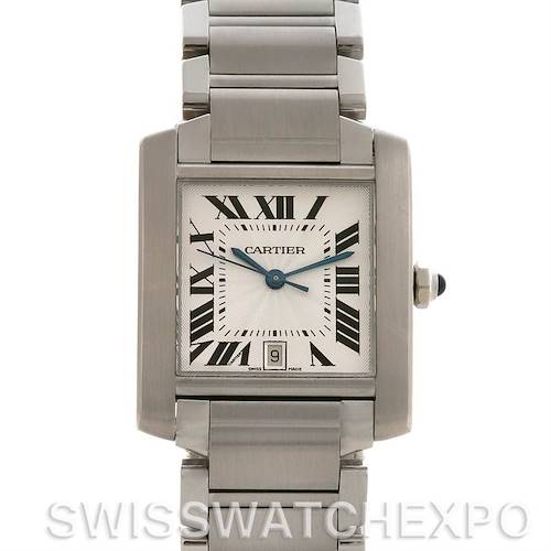 Photo of Cartier Tank Francaise Large SS Automatic Watch W51002Q3