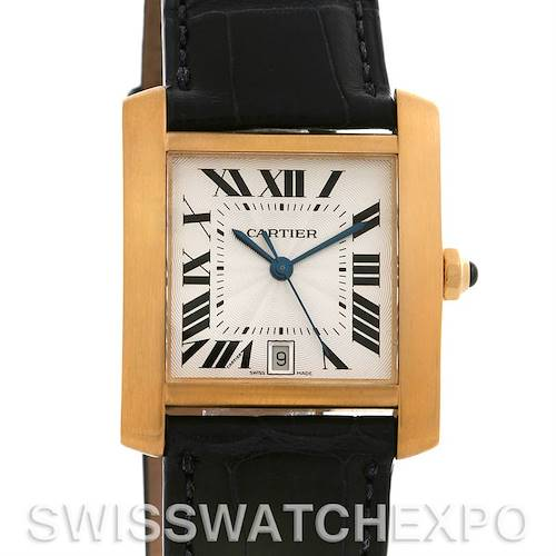 Photo of Cartier Tank Francaise Large 18K Yellow Gold W5000156 Watch