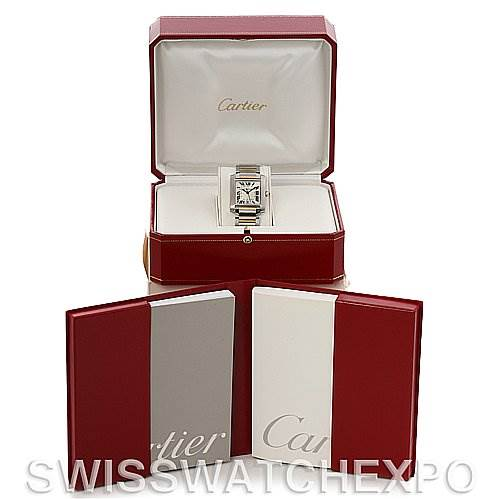 2661 Cartier Tank Francaise Large SS/18K Watch W51005Q4 SwissWatchExpo