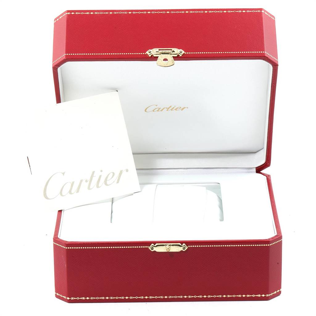 Cartier Tank Francaise Large Yellow Gold Automatic Mens Watch W5000156 SwissWatchExpo