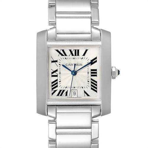 Photo of Cartier Tank Francaise Large 18K White Gold Unisex Watch W50011S3