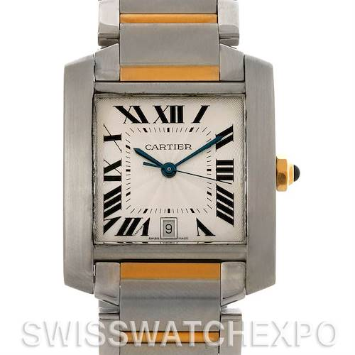 Photo of Cartier Tank Francaise Large SS/18K Watch W51005Q4