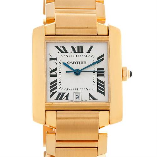 Photo of Cartier Tank Francaise Large 18K Yellow Gold Watch W50001R2