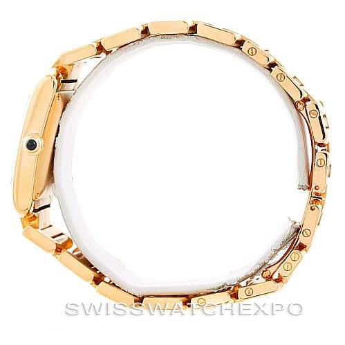 6691P Cartier Tank Francaise Large 18K Yellow Gold Watch W50001R2 SwissWatchExpo