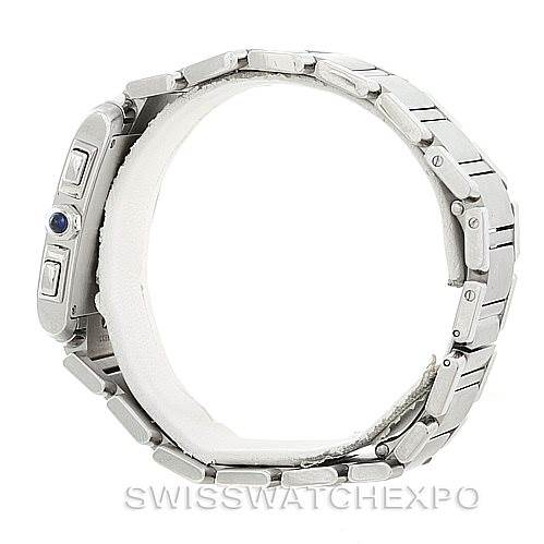 7012 Cartier Tank Francaise Steel Chronoflex Watch W51001Q3 SwissWatchExpo