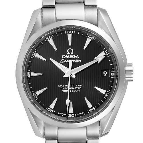 Photo of Omega Seamaster Aqua Terra Black Dial Watch 231.10.39.21.01.002 Box Card