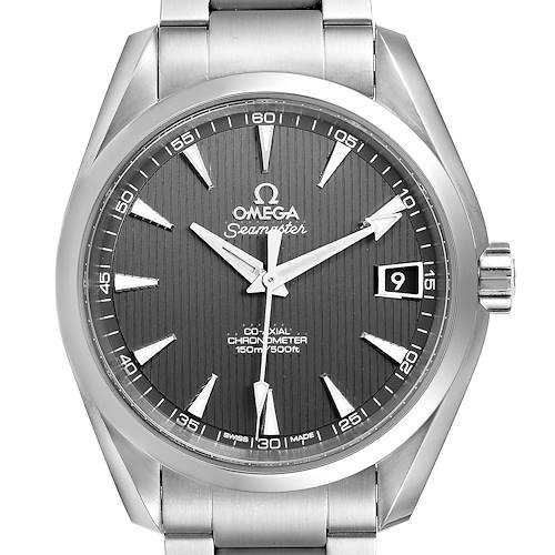 Photo of Omega Seamaster Aqua Terra Grey Dial Watch 231.10.39.21.06.001 Box Papers