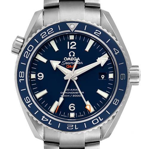 Photo of Omega Seamaster Planet Ocean GMT Titanium Watch 232.90.44.22.03.001 Box Card