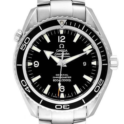 Photo of Omega Seamaster Planet Ocean XL Co-Axial Mens Watch 2200.50.00 Box Card