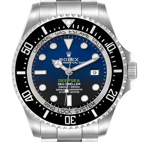 Photo of Rolex Seadweller Deepsea 44 Cameron D-Blue Dial Mens Watch 126660 Box Card