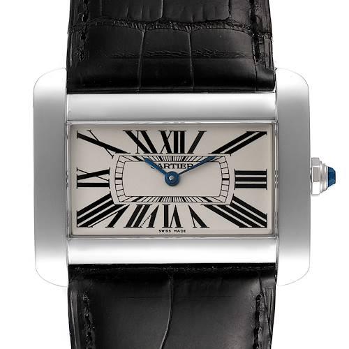Photo of Cartier Tank Divan XL Silver Dial Unisex Watch W6300755