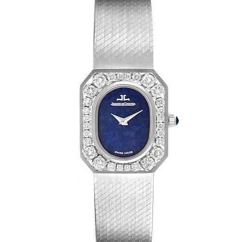 Photo of Jaeger LeCoultre 18k White Gold Diamond Bezel Cocktail Ladies Watch 16315