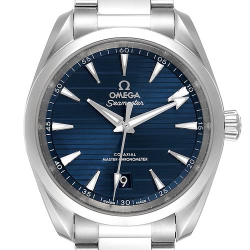 Photo of Omega Seamaster Aqua Terra Blue Dial Mens Watch 220.10.38.20.03.001 Card