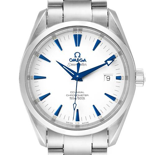 Photo of Omega Seamaster Aqua Terra Blue Hands Steel Mens Watch 2503.33.00