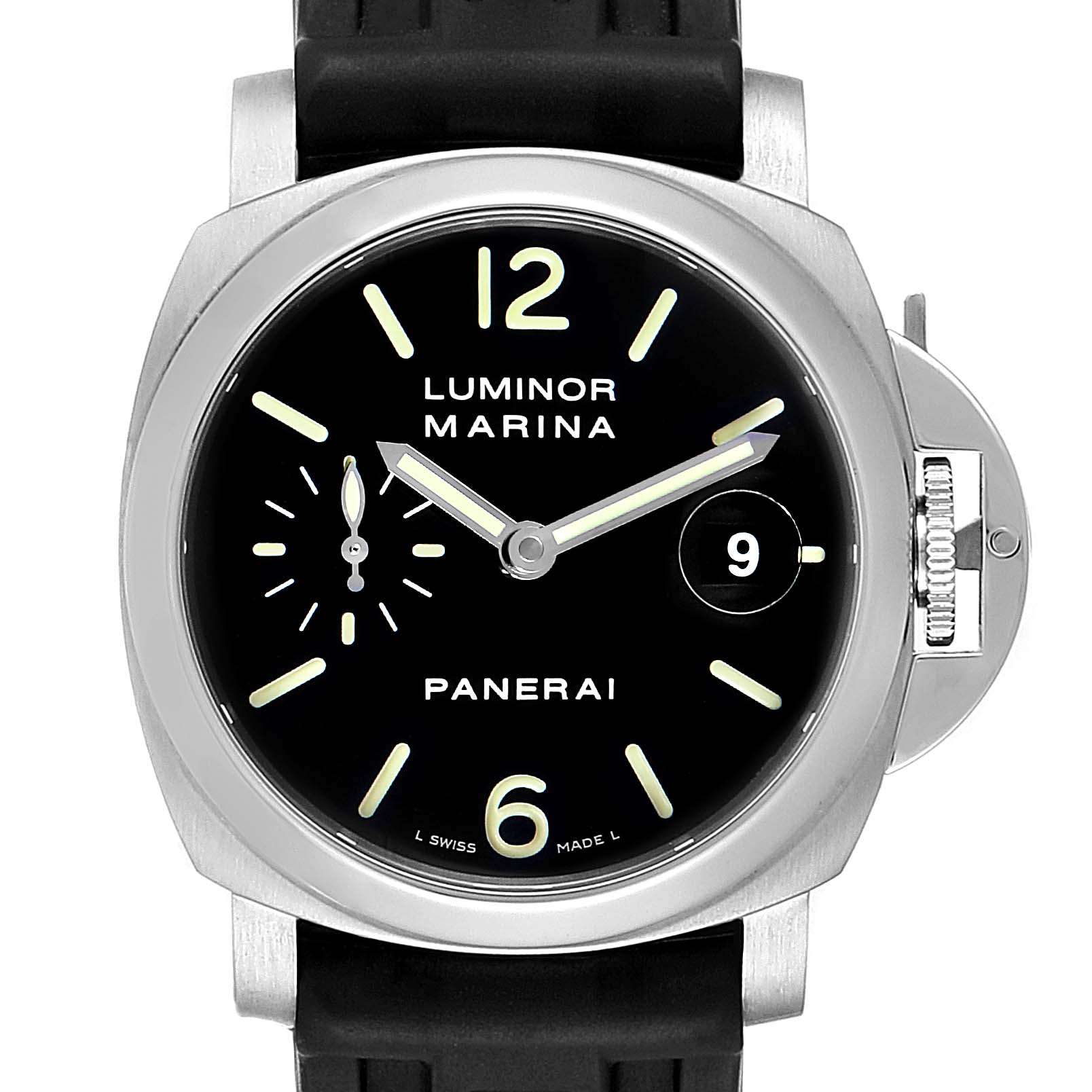 Panerai Luminor Marina Automatic 40mm Watch PAM048 PAM00048