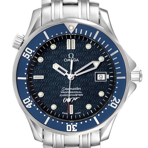 Photo of Omega Seamaster 40 Years James Bond Blue Dial Mens Watch 2537.80.00
