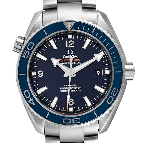 Photo of Omega Seamaster Planet Ocean Titanium Watch 232.90.46.21.03.001 Unworn