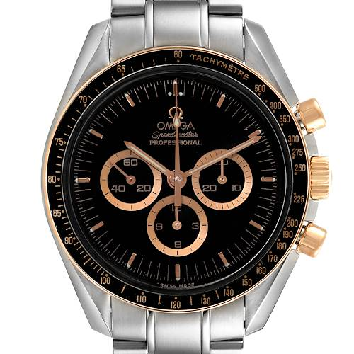 Photo of Omega Speedmaster Professional Steel Red Gold MoonWatch 3366.51.00 Card