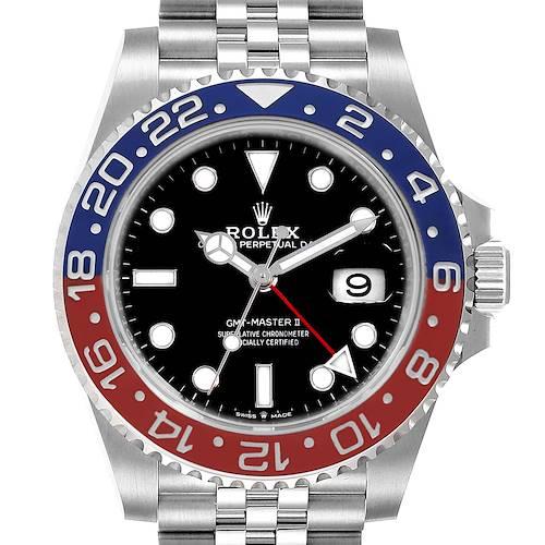 Photo of NOT FOR SALE - Rolex GMT Master II Pepsi Bezel Jubilee Steel Watch 126710 Unworn - PARTIAL PAYMENT